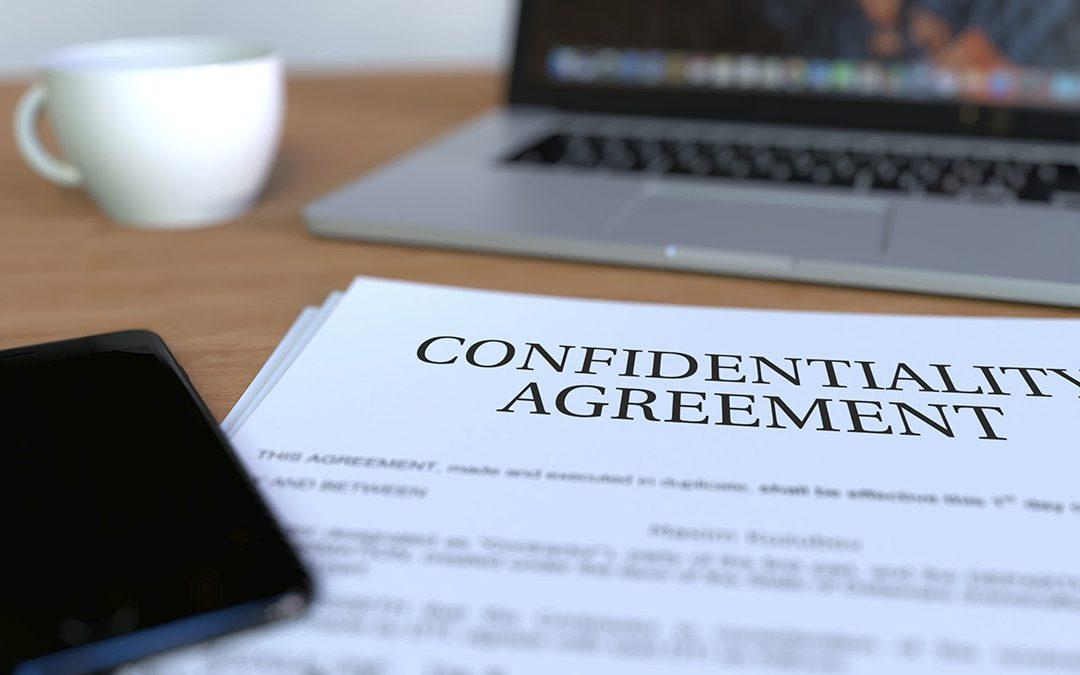 Confidentiality agreements –are they worth it?
